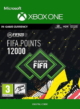 FIFA 20 12000 Points XBOX ONE