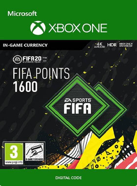 FIFA 20 1600 Points XBOX ONE