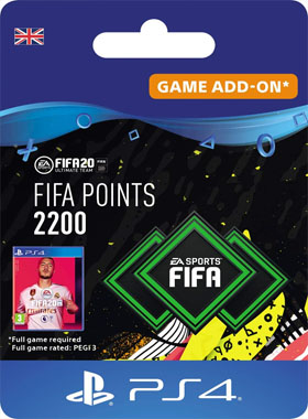 2200 FIFA 20 Points PS4 UK Digital Download