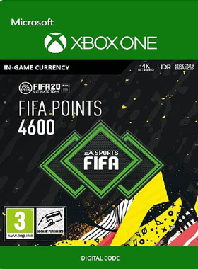 FIFA 20 4600 Points XBOX ONE