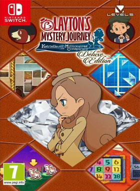 LAYTON'S MYSTERY JOURNEY: Katrielle and the Millionaires' Conspiracy - Deluxe Edition Switch