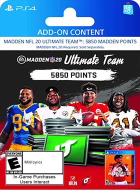 Madden NFL 20: 5850 Madden Ultimate Team Points