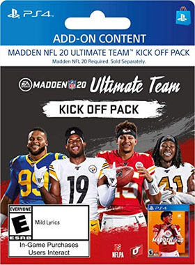 Madden NFL 20:  Madden Ultimate Team Kick off Pack