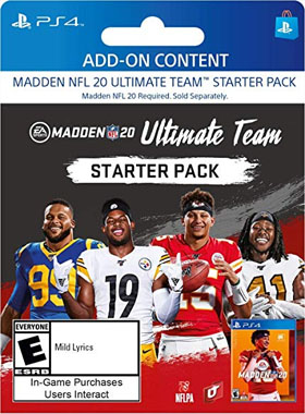 Madden NFL 20: Madden Ultimate Team Starter Pack