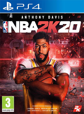 NBA 2K20 USA logo