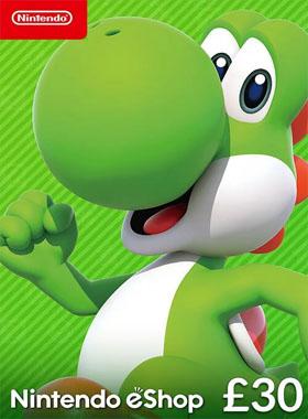 Nintendo eShop Code 30 GBP UK