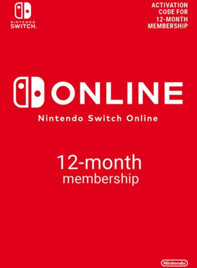 Nintendo Switch Online 12 Month Membership logo
