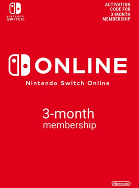 Nintendo Switch Online 3 Month Membership