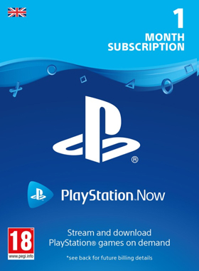 PlayStation Now UK - 1 Month