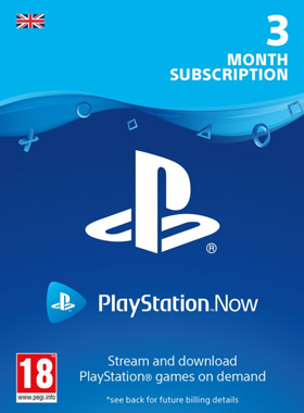 PlayStation Now UK - 3 Months