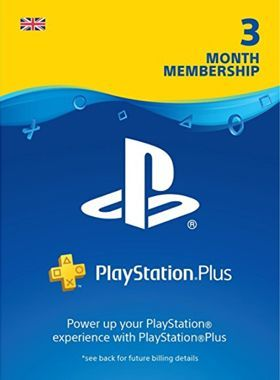 PS Plus 90 Day Membership UK