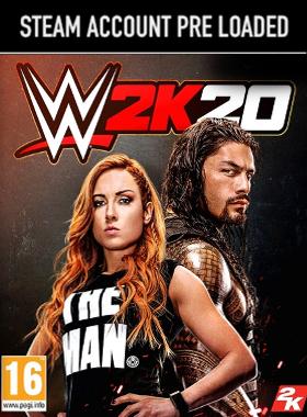 WWE 2K20 PC Steam Pre Loaded Account