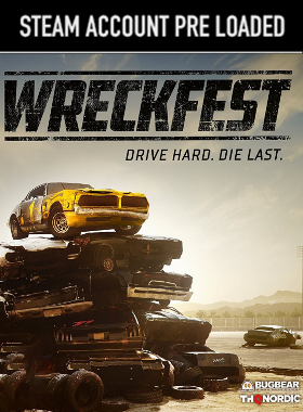 Wreckfest PC Steam Pre Loaded Account