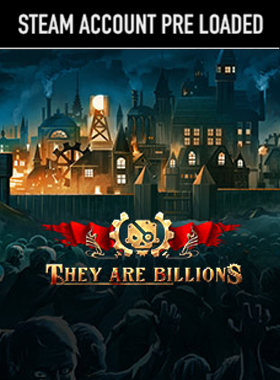 They Are Billions PC Steam Pre Loaded Account