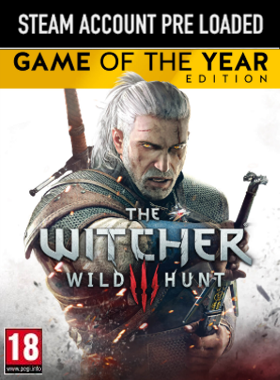 The Witcher 3: Wild Hunt - Game of the Year Edition PC Steam Pre Loaded Account