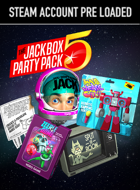 The Jackbox Party Pack 5 PC Steam Pre Loaded Account