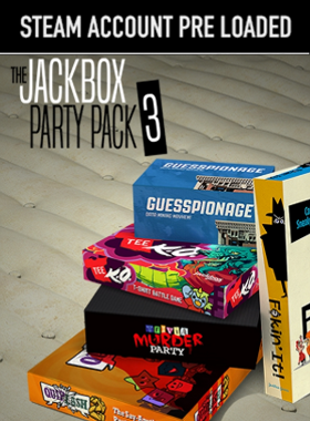 The Jackbox Party Pack 3 PC Steam Pre Loaded Account