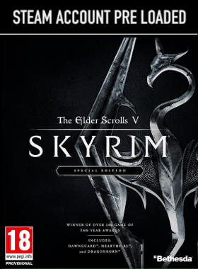 The Elder Scrolls Skyrim Special Edition Steam Pre Loaded Account