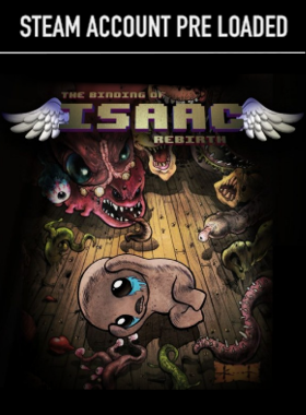 The Binding of Isaac: Rebirth Steam Pre Loaded Account