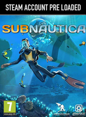 Subnautica Steam Pre Loaded Account