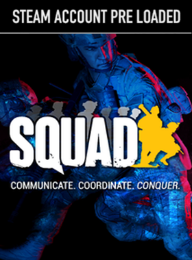 Squad Steam Pre Loaded Account