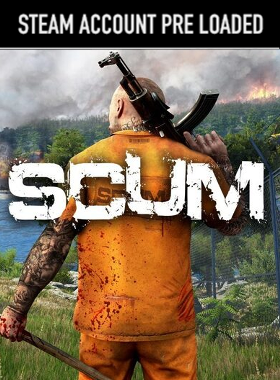 SCUM Steam Pre Loaded Account
