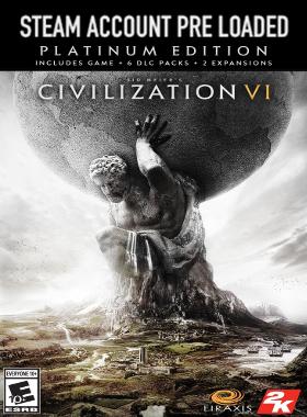 Sid Meier's Civilization VI : Platinum Edition Steam Pre Loaded Account