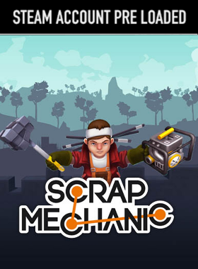 Scrap Mechanic Steam Pre Loaded Account