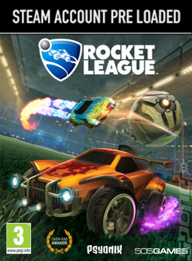 Rocket League Steam Pre Loaded Account