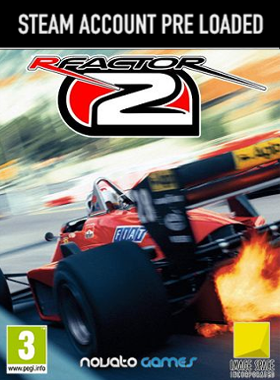 rFactor 2 Steam Pre Loaded Account