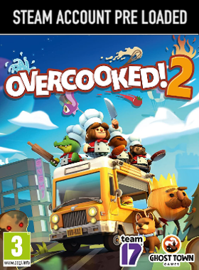 Overcooked! 2 Steam Pre Loaded Account