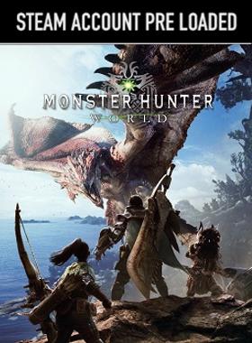 MONSTER HUNTER: WORLD Steam Pre Loaded Account