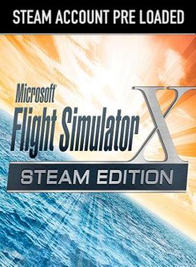 Microsoft Flight Simulator X: Steam Edition Steam Pre Loaded Account