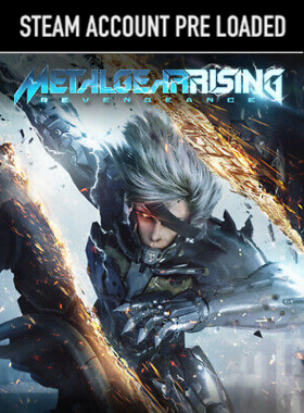 METAL GEAR RISING: REVENGEANCE Steam Pre Loaded Account