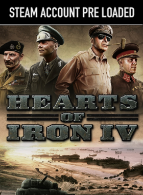 Hearts of Iron IV Steam Pre Loaded Account