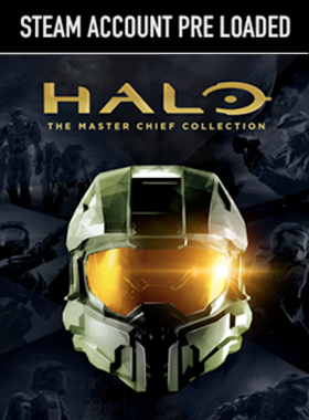 Halo Master Chief Steam Pre Loaded Account