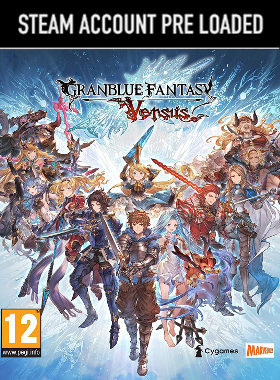 Granblue Fantasy Versus Steam Pre Loaded Account