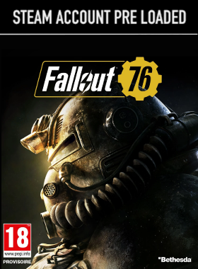 Fallout 76 PC Steam Pre Loaded Account