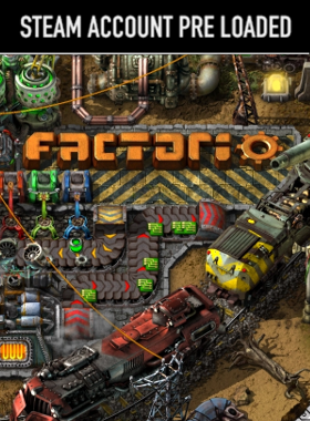 Factorio Steam Pre Loaded Account