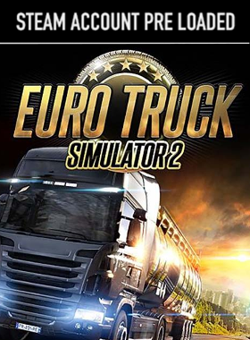 Euro Truck Simulator 2 Steam Pre Loaded Account