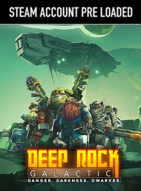 Deep Rock Galactic Steam Pre Loaded Account
