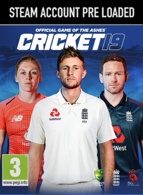 Cricket 19 PC Steam Pre Loaded Account