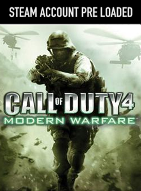 Call of Duty 4 Modern Warfare PC Steam Pre Loaded Account