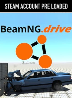 BeamNG PC Steam Pre Loaded Account