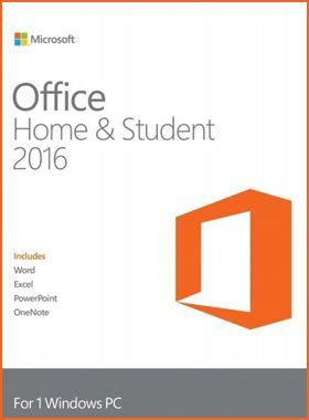 Office Home & Student 2016 1 PC