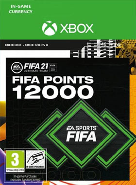 FIFA 21 Ultimate Team 12000 Points Xbox One / Series X