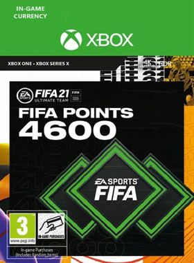 FIFA 21 Ultimate Team 4600 Points Xbox One / Series X