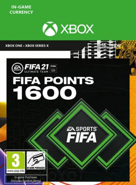 FIFA 21 Ultimate Team 1600 Points Xbox One / Series X