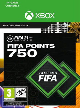 FIFA 21 Ultimate Team 750 Points Xbox One / Series X