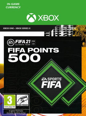 FIFA 21 Ultimate Team 500 Points Xbox One / Series X